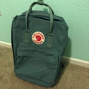 Fjallraven Kanken Backpack (Frost Green)